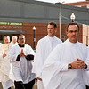 Ordination of permanent deacons Matthew P. Baltier, John David Barry, John H. Beagan Jr., John J. Burkly, Paul G. Coletti, Richard Joseph Cussen, Timothy Francis Donohue, Joseph R. Flocco Jr., Joseph P. Harrington Sr., William Mark Jackson, Kevin P. Martin Jr., and William Roland Proulx Sept. 21, 2013 at the Cathedral of the Holy Cross. <br /> Pilot photo by Gregory L. Tracy
