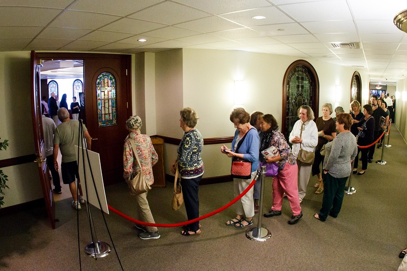 The relic of Padre Pio visits the Archdiocese of Boston Pastoral Center Sept. 22, 2016.<br /> Pilot photo/ Gregory L. Tracy