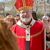 Cardinal O'Malley celebrates Palm Sunday, April 17, 2011, with Immaculate Conception Parish in Revere. Pilot photo/ Gregory L. Tracy