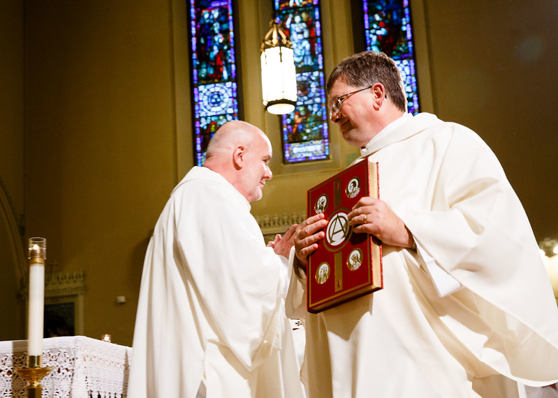 Ordination of permanent deacons at St. Edith Stein Parish in Brockton, Sept. 30, 2017.<br /> Pilot photo/ Gregory L. Tracy