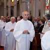 The ordination Mass Permanent Deacons David A. Brooks, Christopher Z. Connelly, Paul David Coughlin, Joseph Bryère Guerrier, Geoffrey W. Higgins, Joseph J. Hopgood, Cheonil Kim, Paul Michael Kline, Howard C. League, Vincent James Leo, Timothy John Maher, Thomas L.P. O'Donnell Jr., and Kevin J. Winn held at the Cathedral of the Holy Cross, Sept. 17, 2011.<br /> Pilot photo/ Gregory L. Tracy