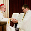 Ordination Mass of Fathers John A. Cassani, Thomas K. Macdonald, Jacques A. McGuffie, Gerald A. Souza, and Christopher W. Wallace May 25, 2013 at the Cathedral of the Holy Cross.<br /> Pilot photo by Gregory L. Tracy