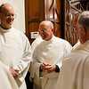 Presbyteral ordination of Fathers Jeffrey Archer, Steven Clemence, Peter DeFazio, George Fitzsimmons, Kevin Hickey, Karlo Hocuscak, Mark Storey, Lawrence Tocci and Jiwon Yoon at the Cathedral of the Holy Cross May 24, 2014. Pilot photo by Gregory L. Tracy