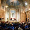 Cardinal Sean O'Malley celebrates Mass with the Boston groups in Washington, D.C. for the March for Life at the Shrine of the Sacred Heart Jan. 22, 2015.<br /> Pilot photo/ Gregory L. Tracy