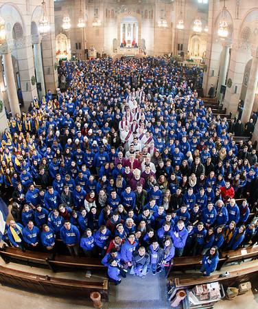 Pro-Life pilgrim Mass