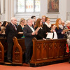 Cardinal O'Malley celebrates the annual Red Mass for members of the legal profession Oct. 30, 2016 at the Cathedral of the Holy Cross.<br /> Pilot photo/ Gregory L. Tracy