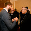 Philadelphia Archbishop Charles Chaput and Father Kevin O'Leary are honored at the Redemptoris Mater Seminary Annual Gala Dinner held June 2, 2016 in Norwood.<br /> Photo by Gregory L. Tracy, The Pilot