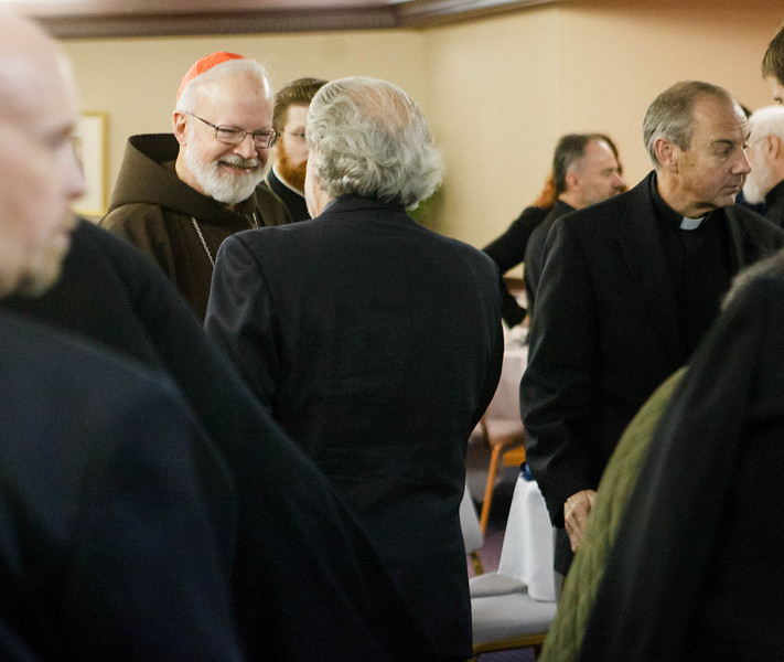 Meeting of Boston area religious leaders on the issue of physician assisted suicide, held at the Greek Orthodox Metropolis of Boston Oct. 9, 2012.  <br /> Photo by Gregory L. Tracy, The Pilot
