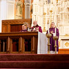 Rite of Election and Call to Continuing Conversion at celebrated the Cathedral of the Holy Cross, March 5, 2017.<br /> Pilot photo/ Mark Labbe