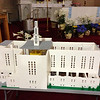 The former St. Joseph Church in Salem recreated in Legos on display at St. James Church for the St. Joseph time capsule opening April 7.<br /> Courtesy photo