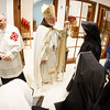 Cardinal Sean O'Malley celebrates a vespers service at the new Our Lady of Good Voyage Shrine in Boston's Seaport District April 21, 2017.  The service was held on the eve of the shrine's dedication for priests, community members, archdiocesan staff, workers and others involved with the development of the new church.<br /> Pilot photo/ Gregory L. Tracy