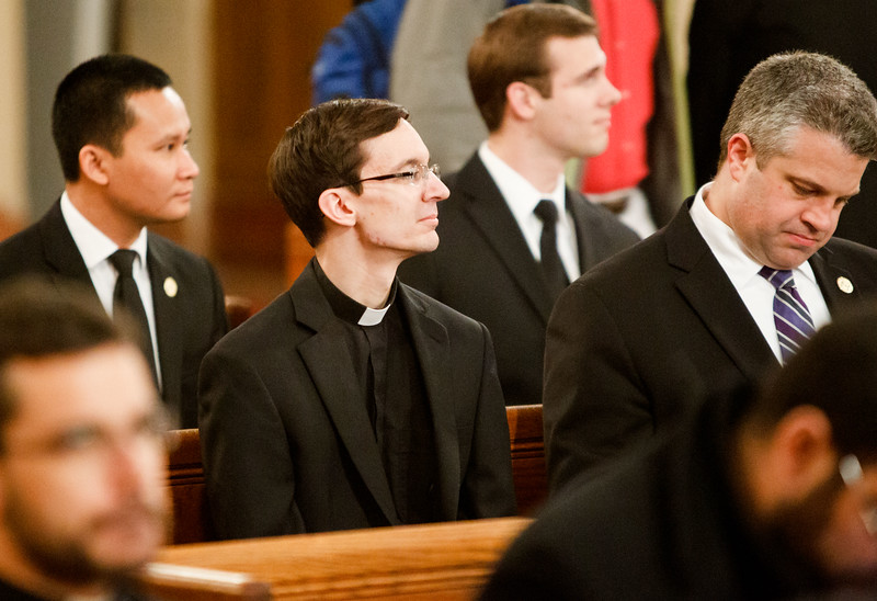 """""""Jewish-Catholic Relations on the 50th Anniversary of Nostra Aetate"""", May 2, co-sponsored St. John's and Redemptoris Mater seminaries.  <br /> Pilot photo/ Gregory L. Tracy"""