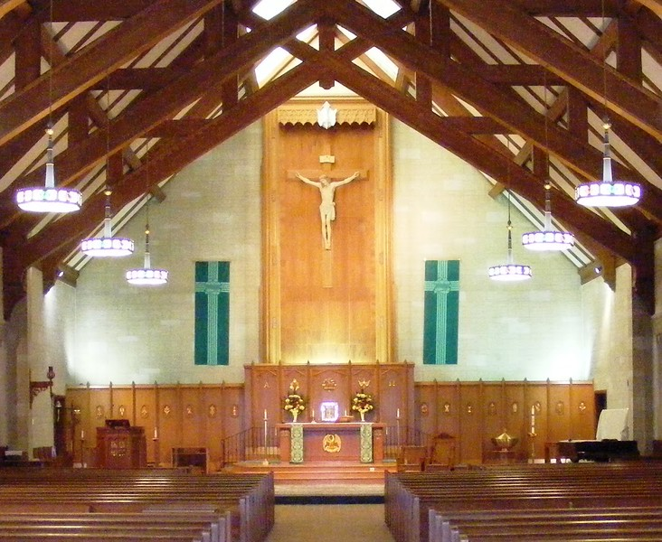 St. Elizabeth Church prior to the 2014-2015 renovations. Pilot photo/ Courtesy Deacon Tom Palanza