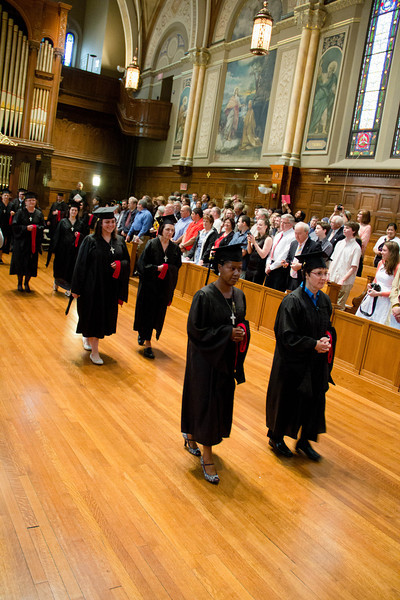 Commencement of the  Theological Institute for The New Evangelization's class of 2014, May 22, 2014 at St. John's Seminary. Pilot photo/ Christopher S. Pineo