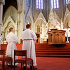 Ordination Mass of Transitional Deacons John A. Cassani, Gerald A. Souza and Christopher W. Wallace Jan. 19, 2013 at Boston's Cathedral of the Holy Cross. Pilot photo/ Christopher S. Pineo