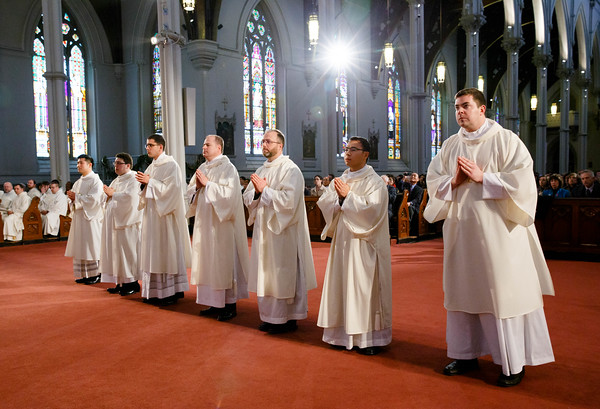 Transitional Deacons Jan. 2016