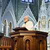 Couples celebrating 25, 50 and 60-plus years of marriage join a special Mass celebrated by Cardinal Seán P. O'Malley at the Cathedral of the Holy Cross June, 22, 2014.  At the Mass the cardinal led the couples in a renewal of vows. (Pilot photo/ Gregory L. Tracy)