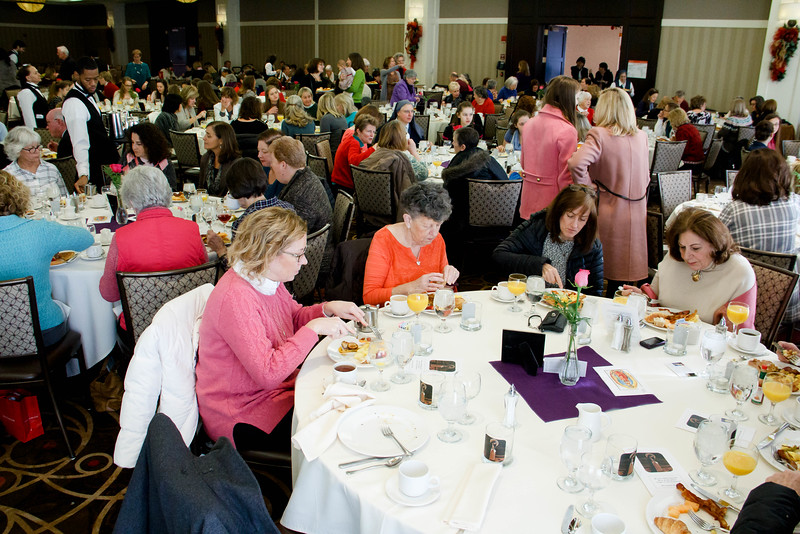 Women Affirming Life Mass and Breakfast, Dec. 10, 2016.<br /> Pilot photo/ Mark Labbe