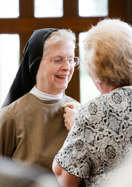 Celebration of women religious jubilarians, St. Theresa Church, West Roxbury Sept. 20, 2014. Pilot photo/ Gregory L. Tracy