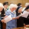 Celebration of women religious jubilarians, St. Theresa Church, West Roxbury Sept. 20, 2014. Pilot photo/ Gregory L. Tracy
