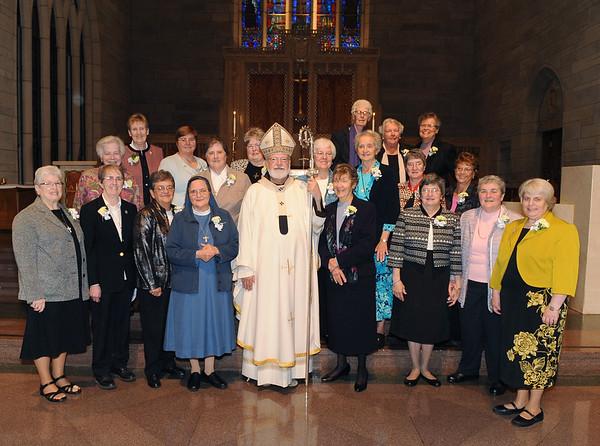 Women Religious Jubilarians 2015