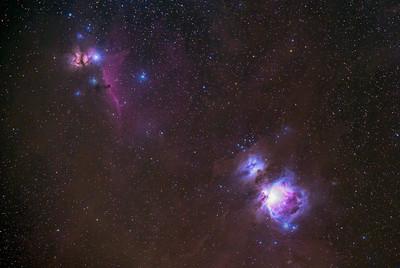 Orion Nebula & Horsehead Nebula