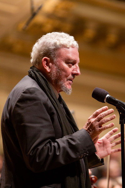 """""""Suffering of the Innocents, a Symphonic Homage and Prayer"""" performed at Boston Symphony Hall May 6, 2012. Photo by Gregory L. Tracy"""