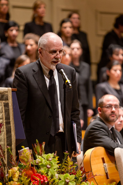 """Suffering of the Innocents, a Symphonic Homage and Prayer"" performed at Boston Symphony Hall May 6, 2012. Photo by Gregory L. Tracy"
