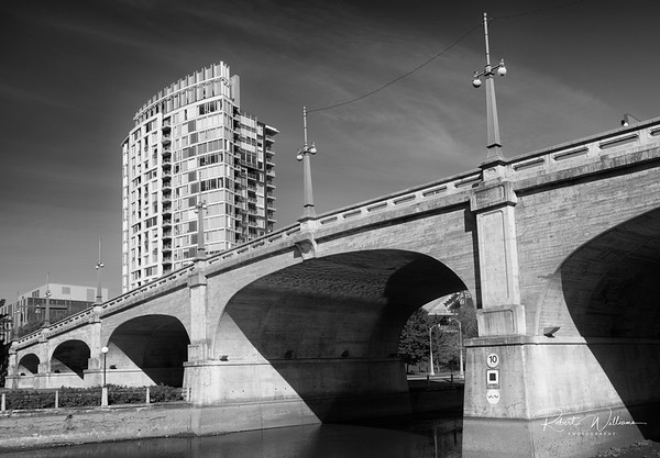 The Bank Street Bridge over the Rideau Canal