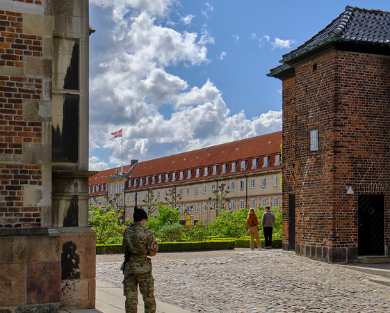 Military Guard, Rosenborg Castle