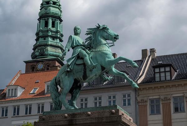 Equestrian Statue of Bishop Absalon, Copenhagen Denmark