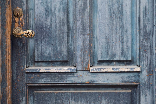 Wooden Door in Copenhagen