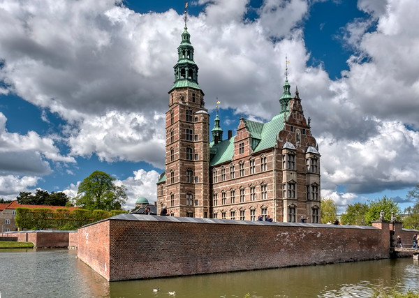 Rosenborg Castle and Moat.