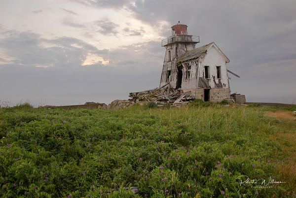 Fish Fluke Point Lighthouse, Ross Island
