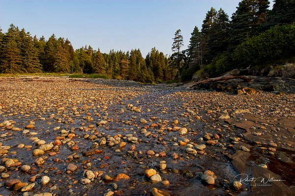 Rocky Beach at Deep Cove