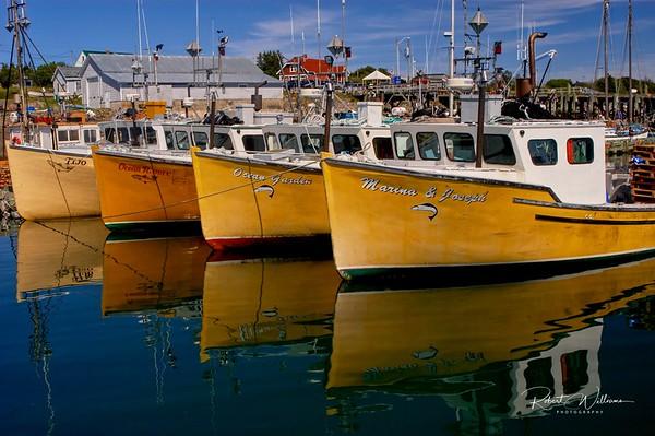 Fishing Boats at North Head