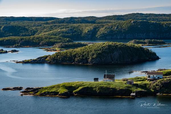 Pike's Arm, New World Island, Newfoundland