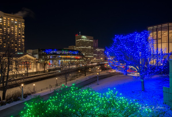 The Rideau Canal in Downtown Ottawa
