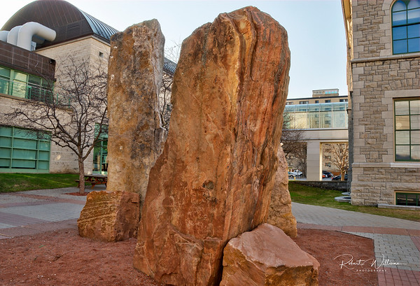 Rock Monument at the Ottawa City Hall