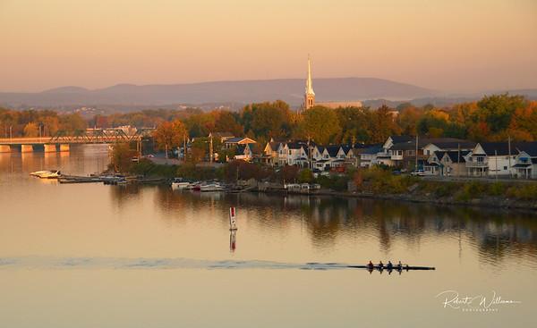Morning on the Ottawa River