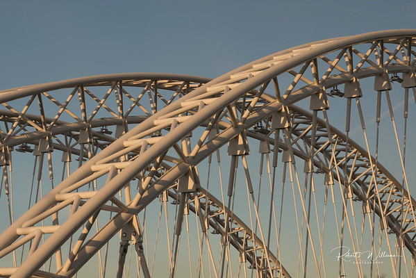 Arches of the Vimy Bridge
