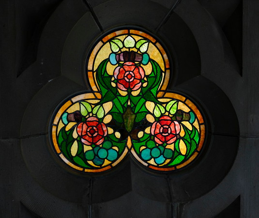 Stained Glass Window at the Museum of Nature