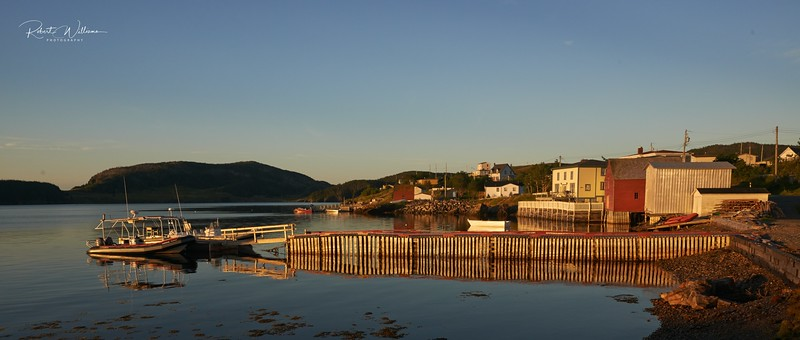 A Wharf in Trinity