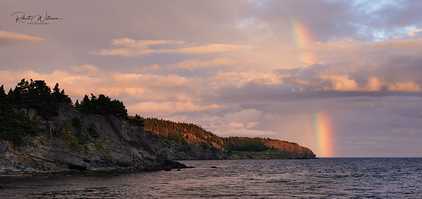Rainbow on Robinhood Bay