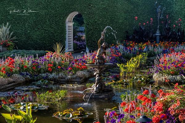 The Italian Garden, Butchart Gardens
