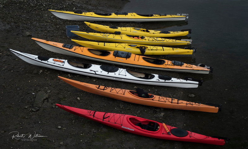 Kayaks from Vanouver Island University