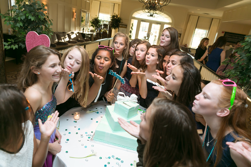 Danielle Bat Mitzvah Party Photography at Country Club