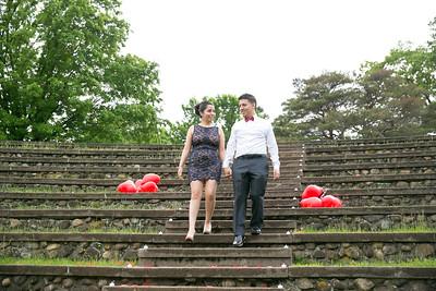 Wedding Engagement Proposal College Saint Elizabeth