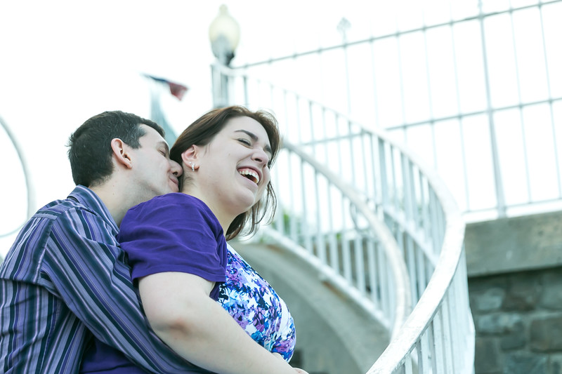 NJ engagement pictures Hamilton Park Weehawken