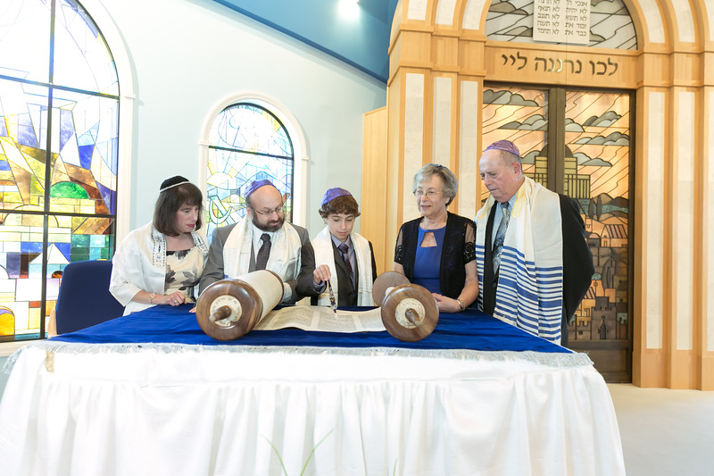 bar mitzvah jewish temple ceremony nj ny